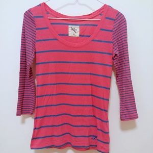 Hollister Quarter Sleeve Tee